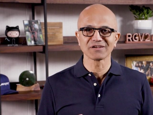Satya Nadella kicks off the Build 2020  online event