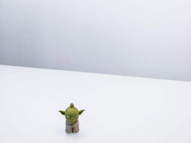 figurine of Yoda, the ultimate mentor