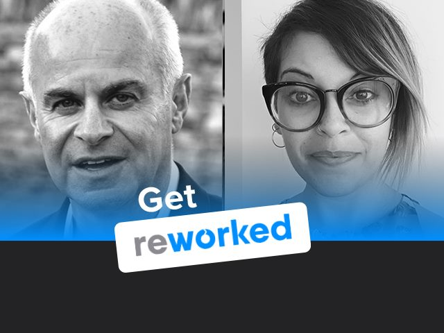 Paul Miller and Shimrit Janes of Digital Workplace Group on the Get Reworked Podcast